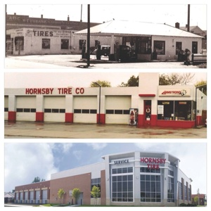 A lot has changed in 78 years, including a new address and sparkling new building in 2010. But, Hornsby Tire's focus on the customer first has not changed.