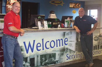 Co-owners and third generation dealers David and Mark Hornsby have instilled a welcoming attitude to their entire team.
