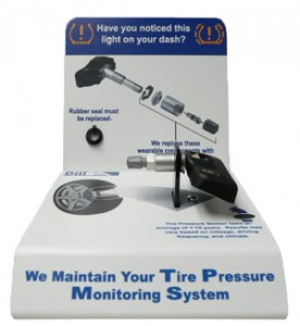TPMS Counter Display: Courtesy of Dill Air Controls.