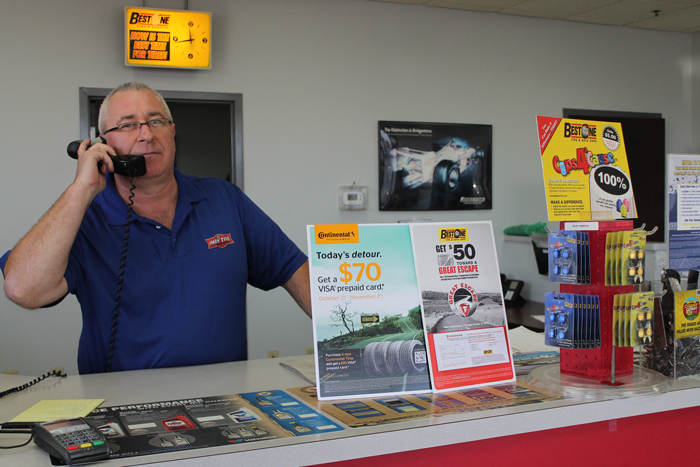 Indy Tire employees are the customers first impression of the company and brand.