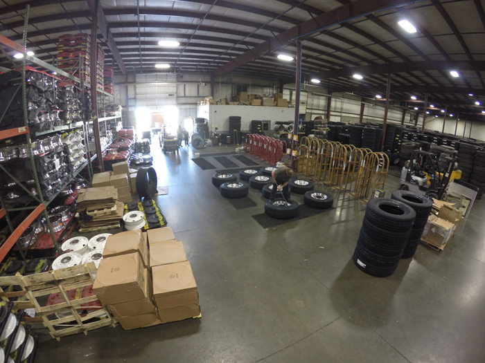 Indy Tire also operates a commercial division, wholesale warehouse and a Bandag retread plant.