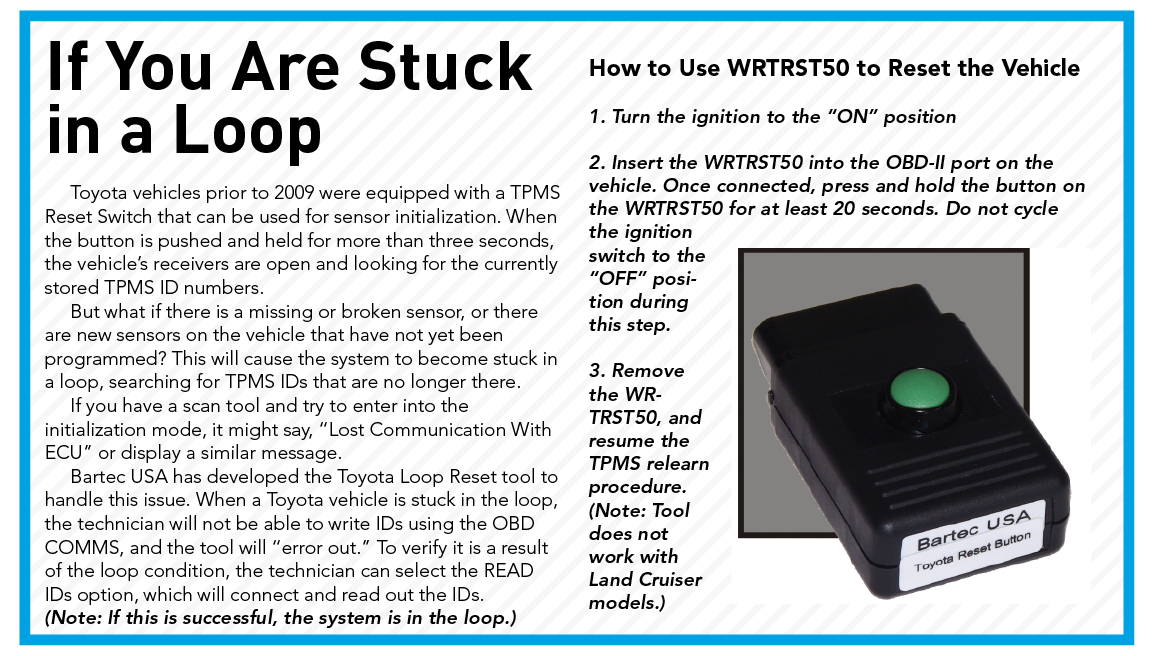 Understanding Toyota S Direct And Indirect Tpms Tire Review Magazine