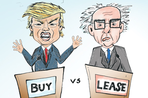 why to lease a car vs buy