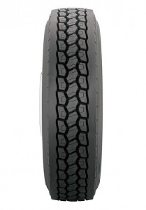 Retread technology, the kind that was used to produce this drive retread from Bandag, has been recognized by the SmartWay Partnership as able to produce verified fuel efficient retread tires.