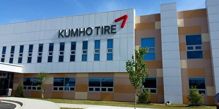 kumho opens first us facility in georgia tire review magazine. Black Bedroom Furniture Sets. Home Design Ideas