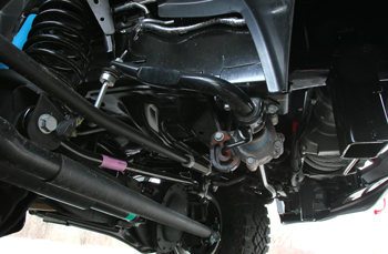 Active sway bars allow the bar to disconnect to allow for more wheel travel over rough surfaces.