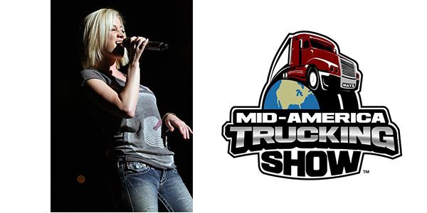 Kellie Picker Mid-American Trucking Show