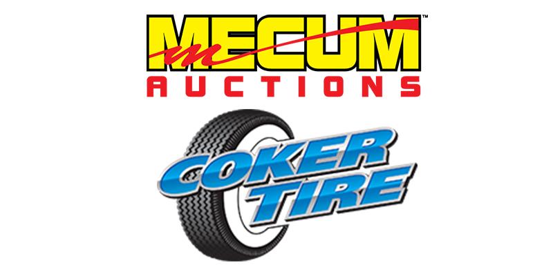Mecum Coker Tire partnership