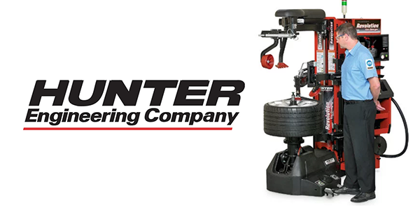 Hunter Engineering Revolution Tire Changer with WalkAway capabilities