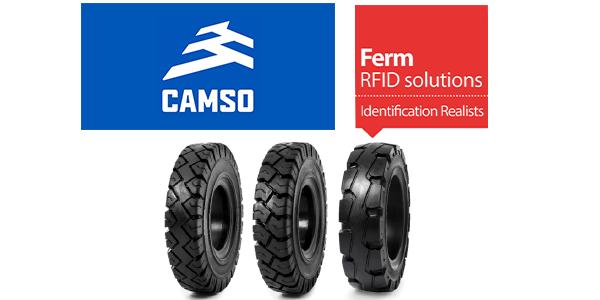 Camso FermRFI tire dientification patent