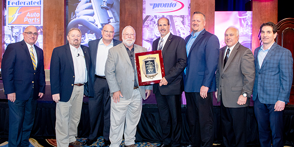 The Automotive Parts Services Group Vendor of the Year
