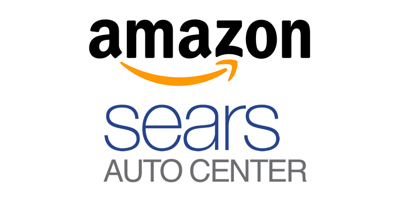Sears shares soar on tire-service deal with Amazon
