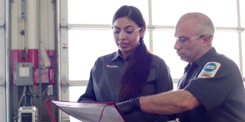 Bridgestone Firestone Complete Auto Care technicians advertisements