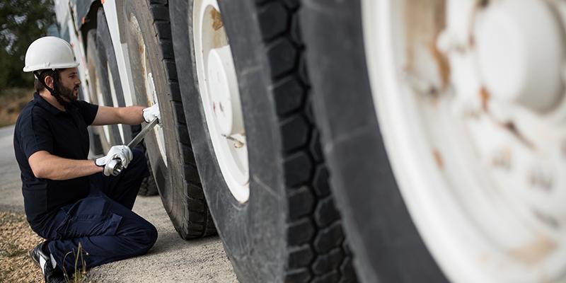 truck tire scrap analysis