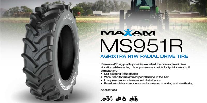 Maxam Tire's MS951R Agrixtra