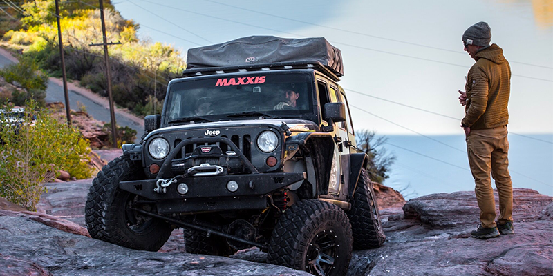 Maxxis rock carawling tires