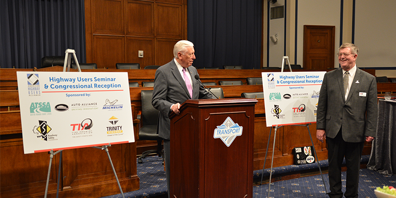 Tire Industry Association Lobby Day Steny Hoyer Rpy LIttlefield