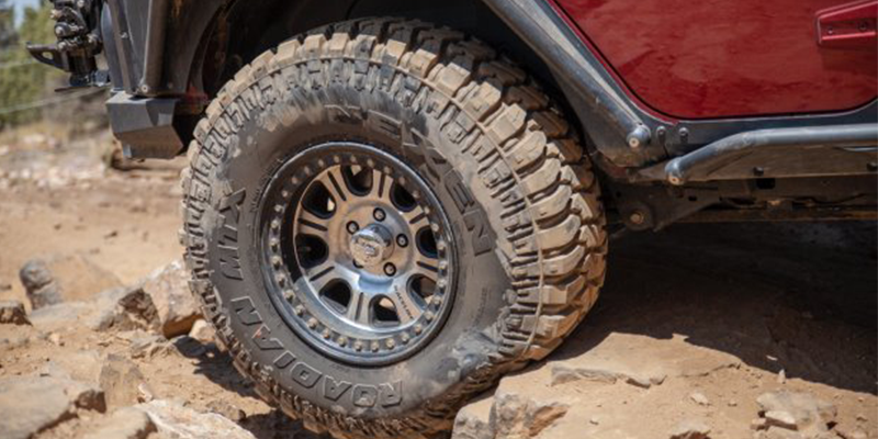 Nexen Roadian MTX Mud Terrain Rock Crawling