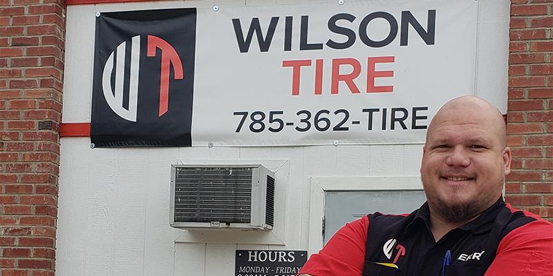 Tery Wilson Wilson Tire Holton Kansas