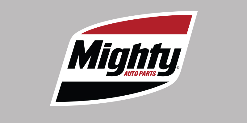 Mighty Auto Parts 2018 logo