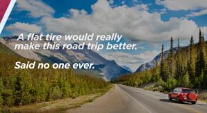 Tire Pros social media cards advertising