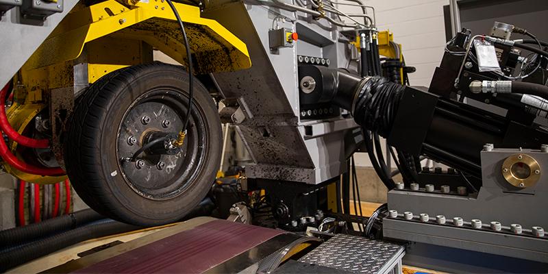 Smithers Rapra CT tire model test