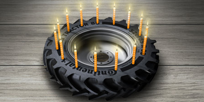 Continental Ag Tire 90 year anniversary