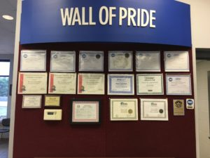 Tire Source Wall of Pride