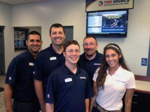 Tire Source team Akron Canton Ohio