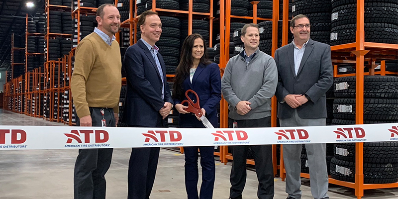 ATD Ribbon cutting Pocono Mixing facility