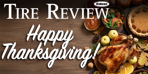 Happy Thanksgiving TR Newsletter