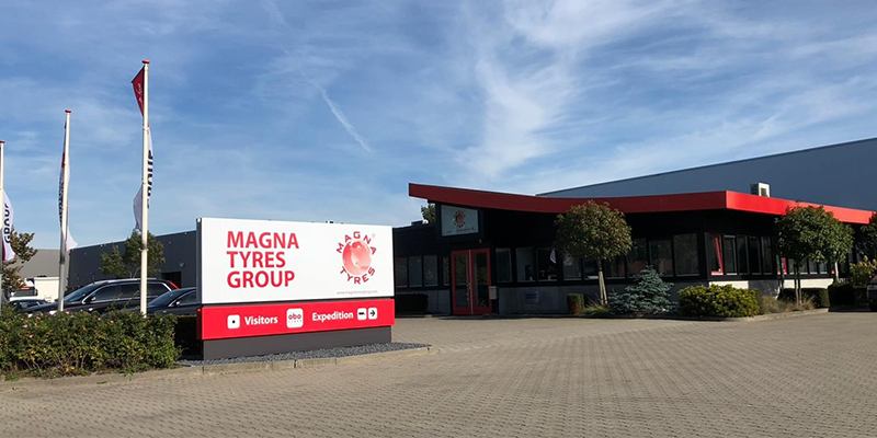 Magna Tyres Netherlands Plant