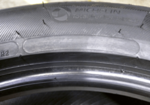 Michelin tires without markings