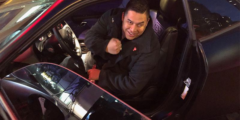Steven Diaz Purple Heart Nexen Tire Dodge Challenger