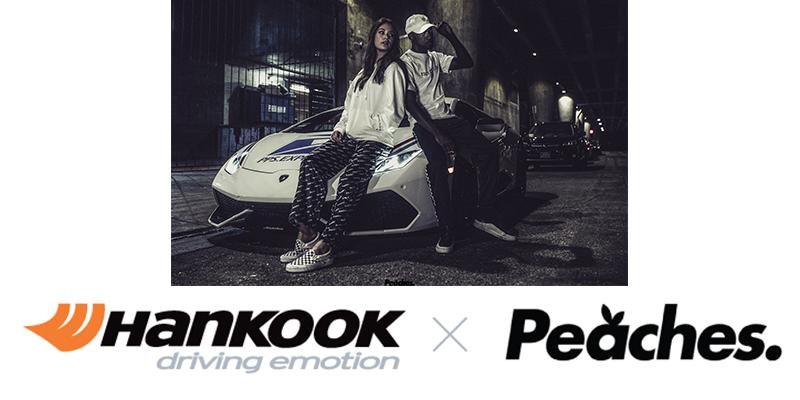 Hankook Tire Peaches collaboration