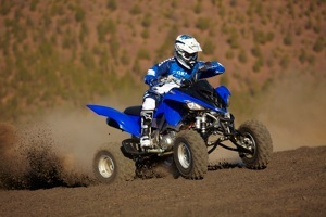 When matching ATV tires to applications, remember that a tread pattern that shoots soil low to the ground is highly efficient because there is more energy used to propel the vehicle forward rather than throwing debris high up into the air in a