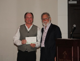Bruce Stranaghan, of the Integra Tire Kelowna location, was honored with the first annual Integra Tire Humanitarian Award.